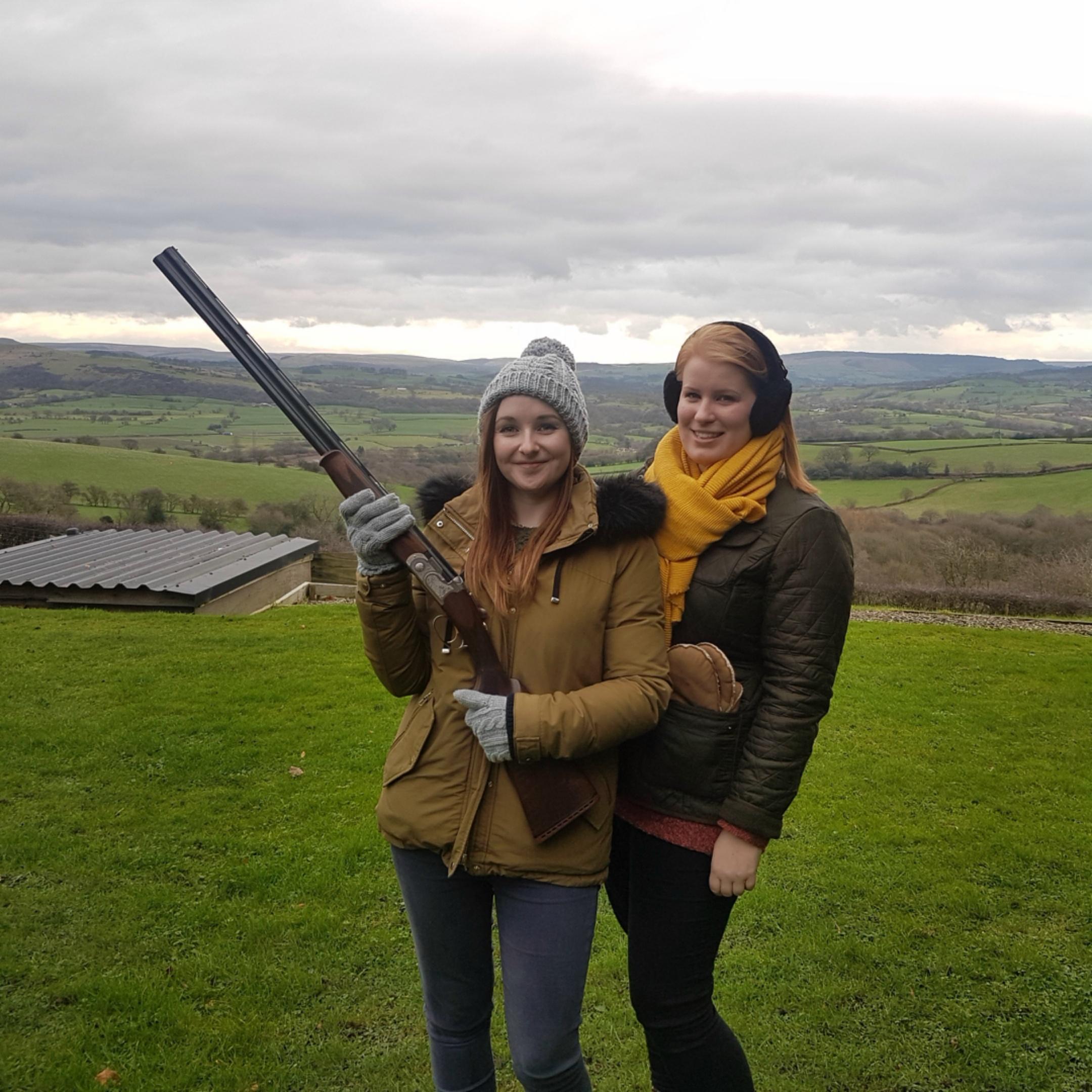 Jen & Ellen visit Cheshire's Finest Shooting Ground