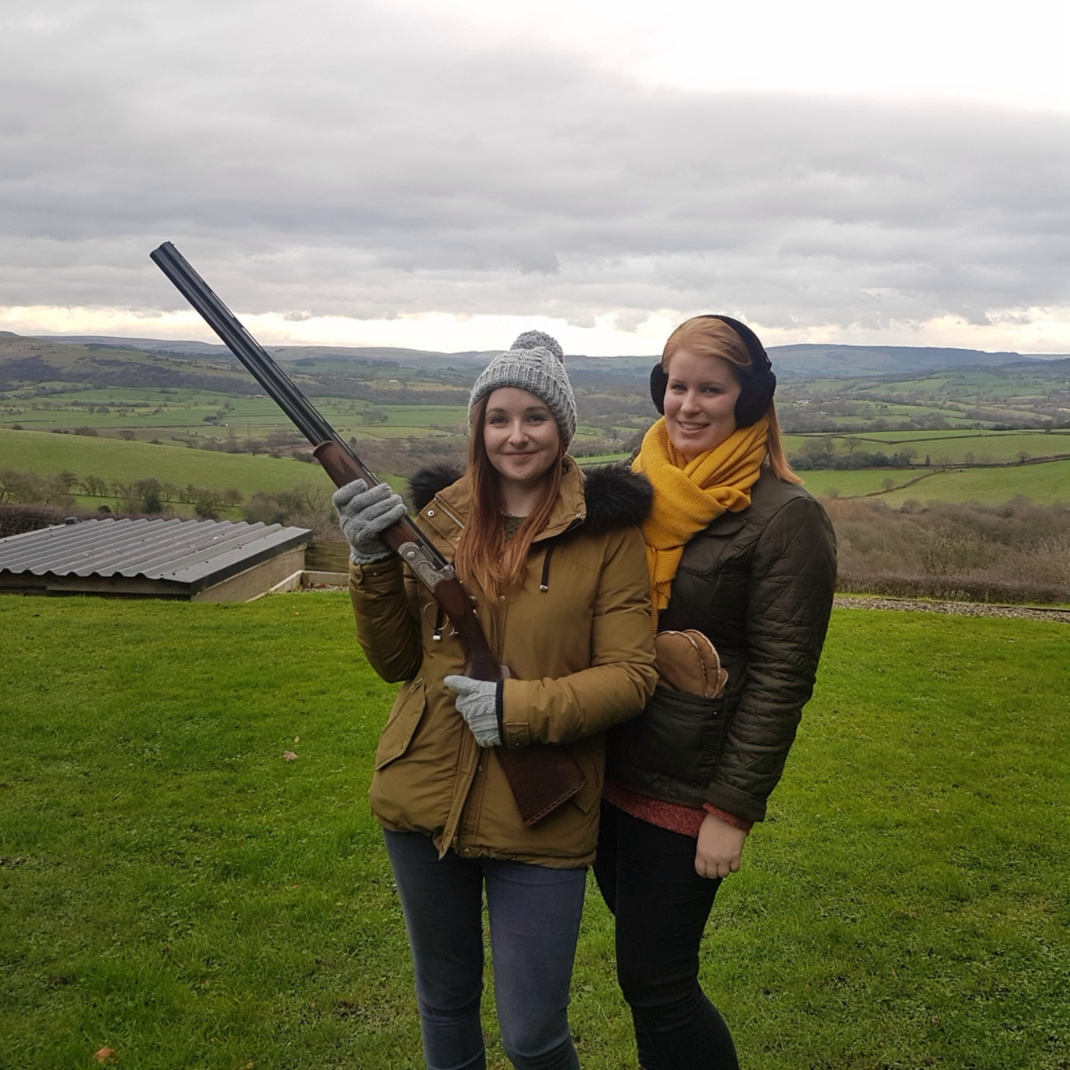 Jen & Ellen visit Cheshire's Finest Shooting Ground