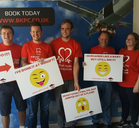 A day to remember: ClientsFirst go skydiving!